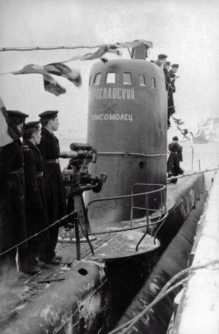 submarine M-104
