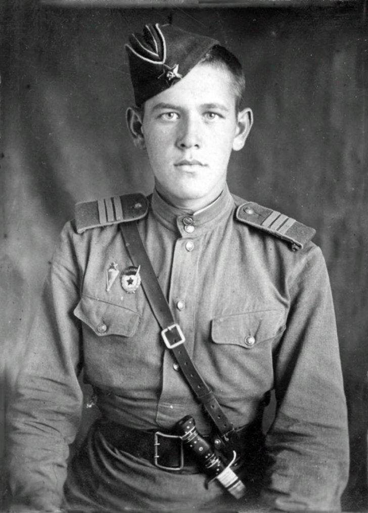 sergeant Pavel Grunin