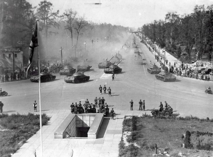 The Victory Parade of the Allied Forces