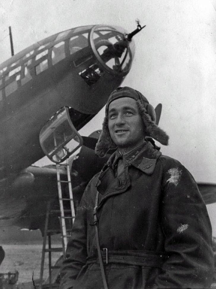 Navigator V. Kolchin, Il-4
