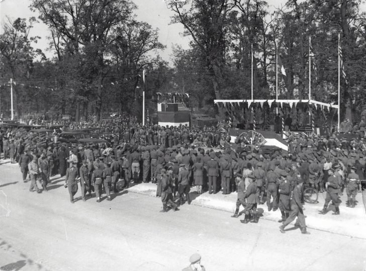 Parade of the Allied Forces