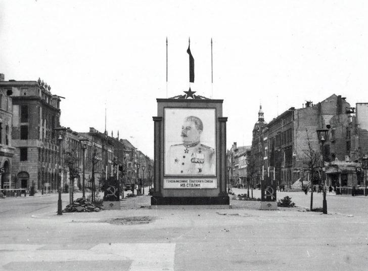 Portrait of the Joseph Stalin