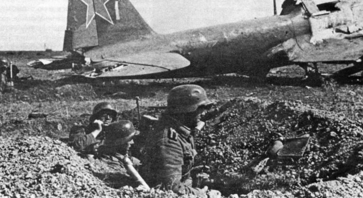 German soldiers, IL-2