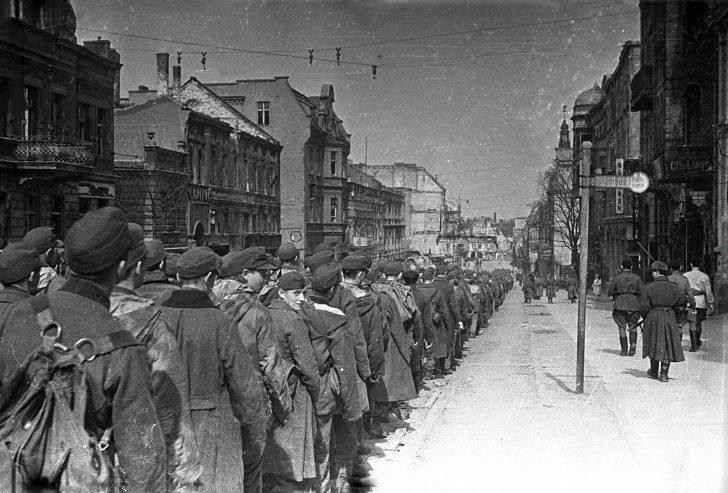 Prisoners of war Nazis