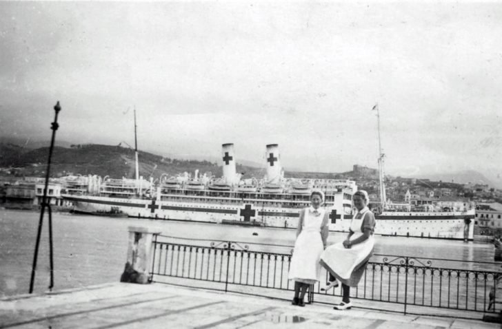 floating hospital Gradisca
