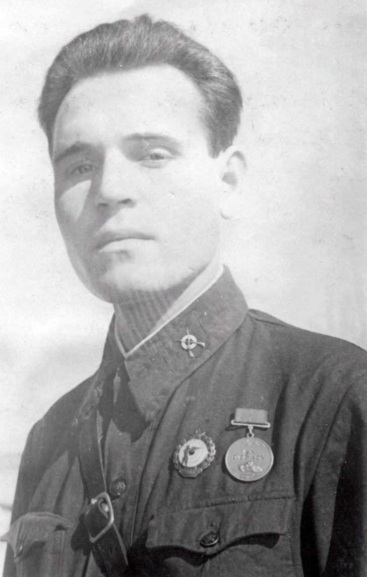sniper Mikhail Baskakov