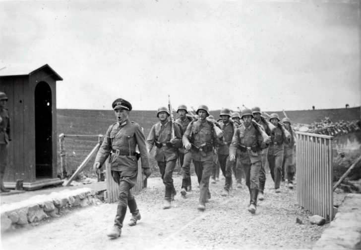 Infantry of Wehrmacht