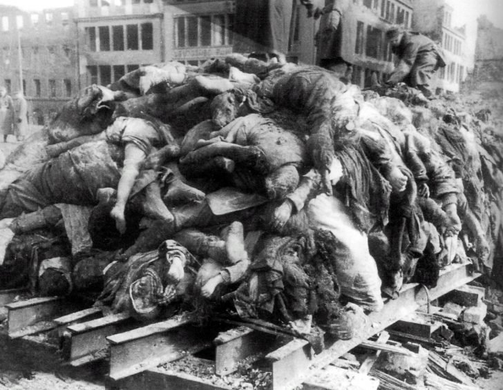 bodies of civilians
