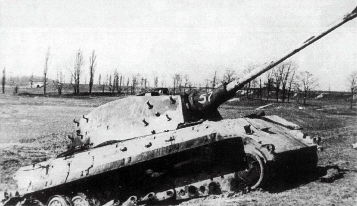 Destroyed King Tiger