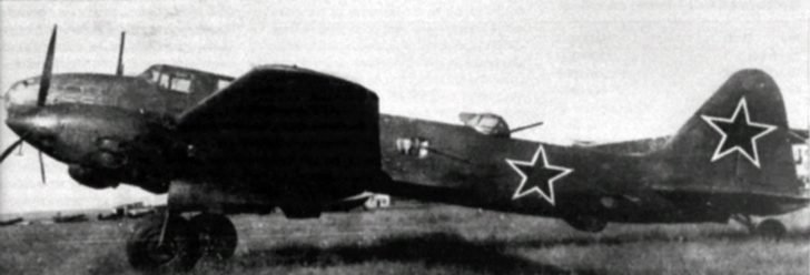 Long-range bomber Il-6