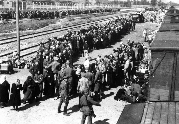 concentration camp of Auschwitz