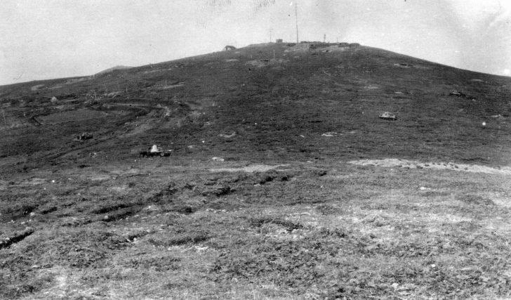 Destroyed Japanese tanks