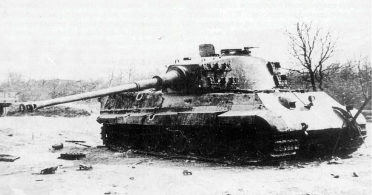Heavy tank King Tiger