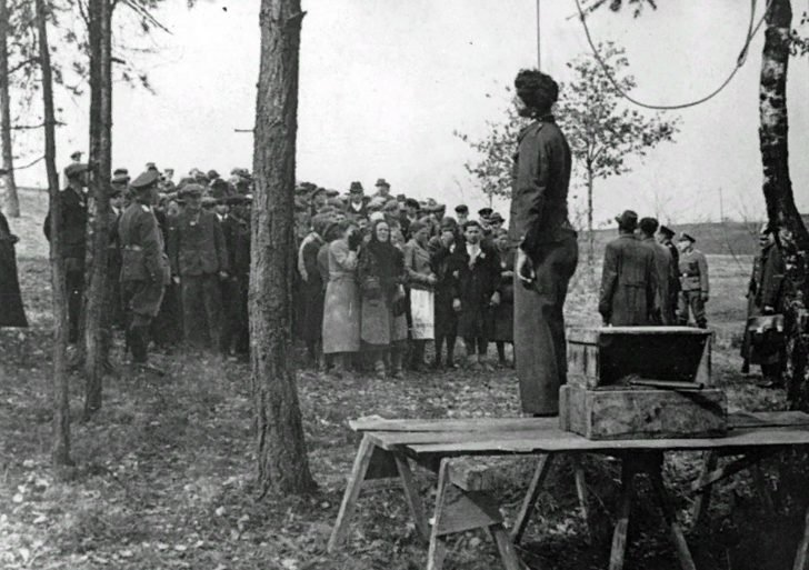 execution of a Polish worker