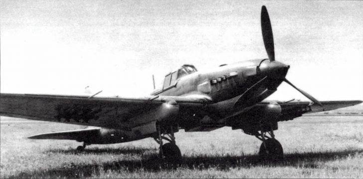 IL-2 attack aircraft