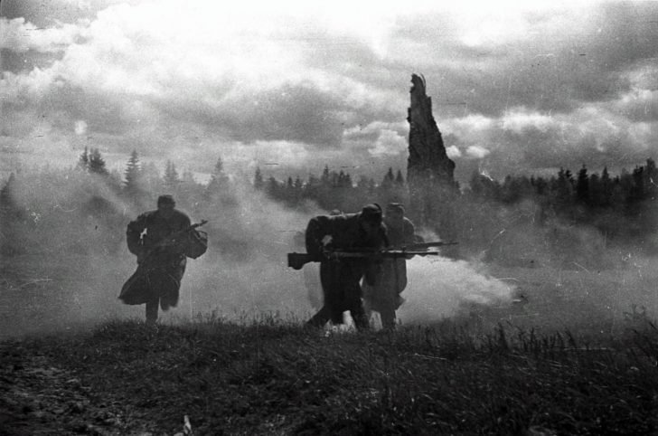 Infantry of the Red Army