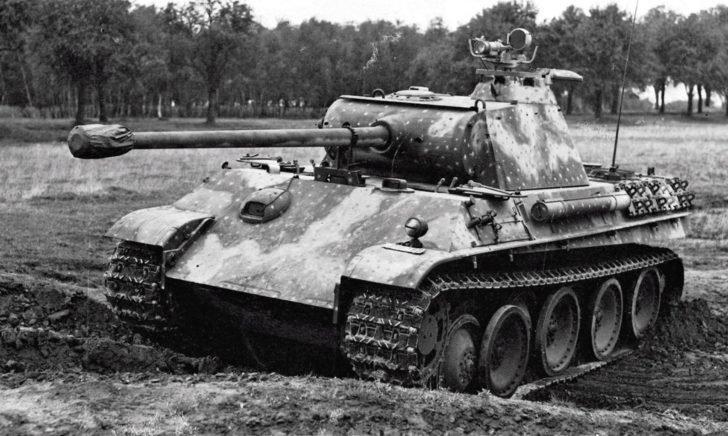 Panther medium tank