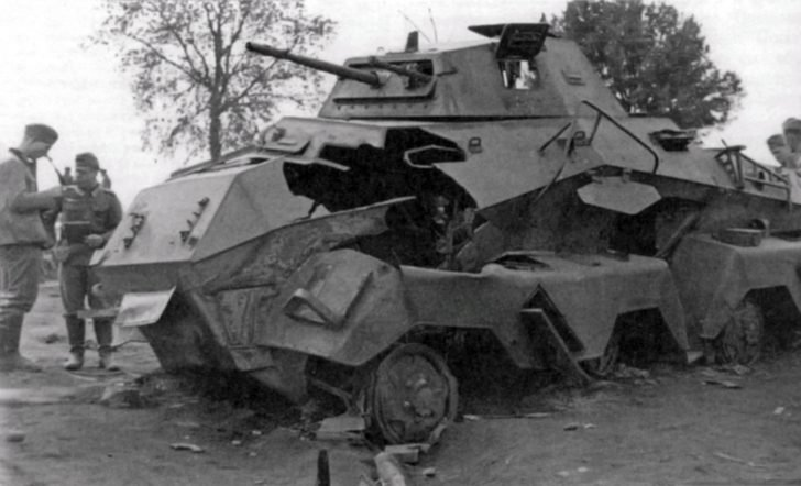 armored car Sd.Kfz. 231