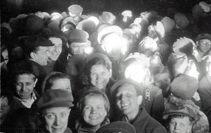 residents of Leningrad