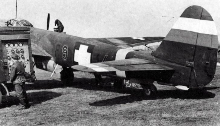 reconnaissance aircraft Ju-88D
