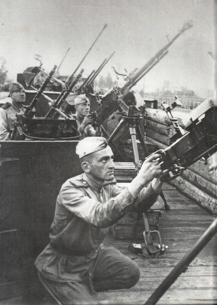Soviet antiaircraft gunners