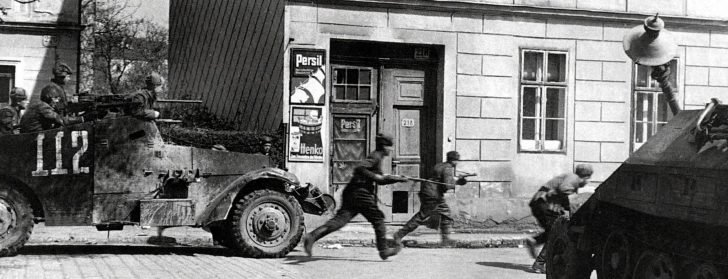 Soviet soldiers, M3 Scout Car