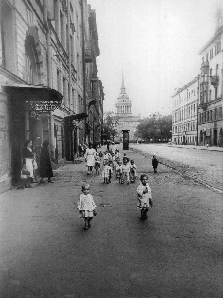 children from kindergarten