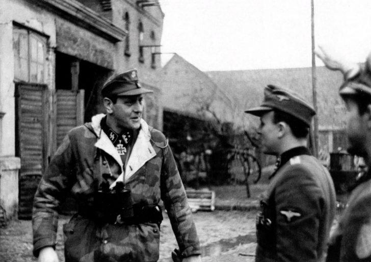 SS-Obersturmbannführer Otto Skorzeny