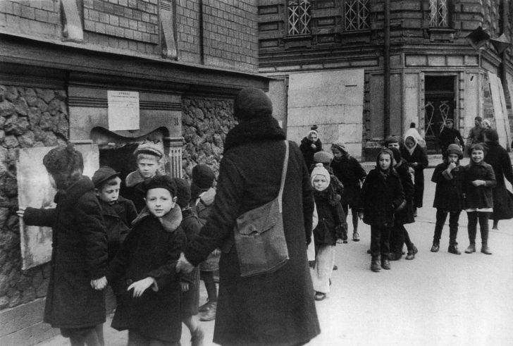 Children from the Leningrad