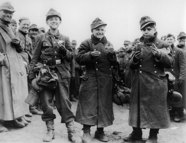 14-year-old German soldiers