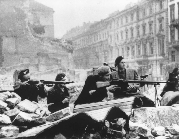 Fighters of the Polish resistance