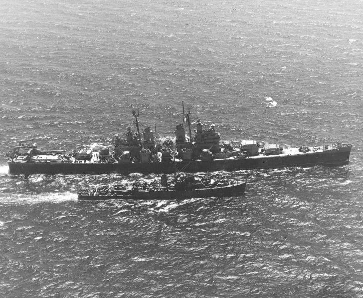 cruiser Boston, frigate Grand Island