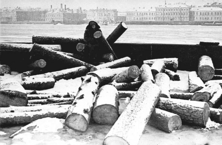 A resident of besieged Leningrad