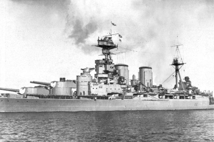 Hood battlecruiser