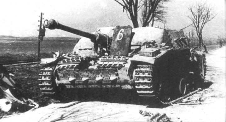 The assault gun StuG 40 Ausf.G