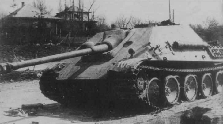 Jagdpanther self-propelled gun