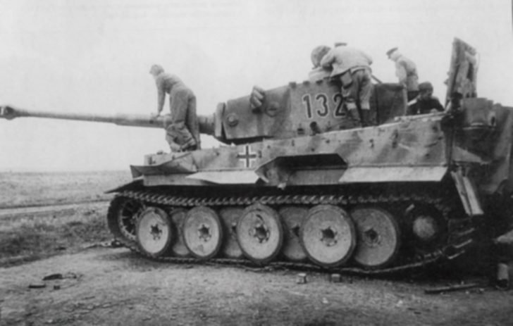 Tiger heavy tank