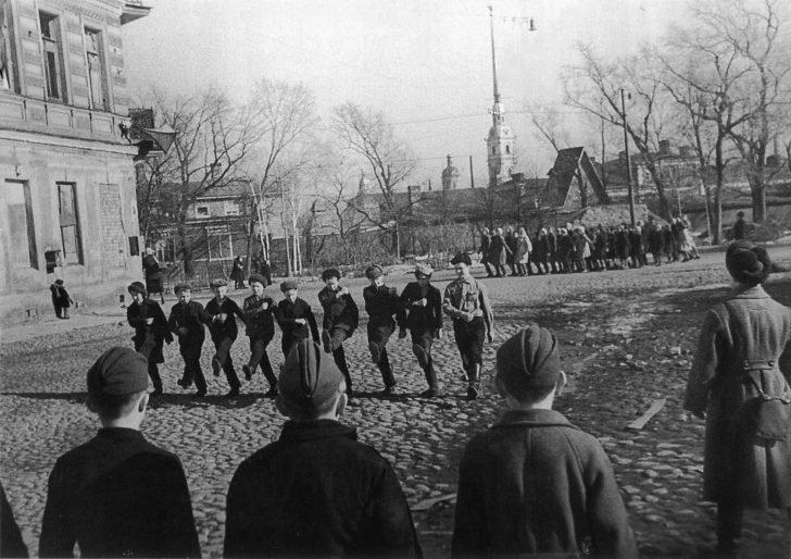 Soviet students