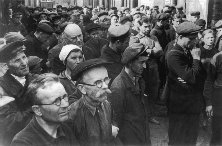 Workers at the plant named after Kirov