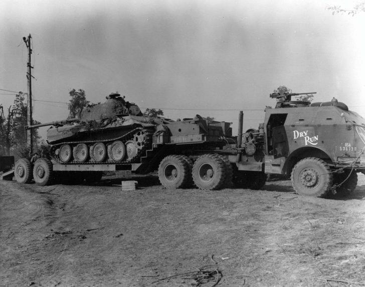 Panzer V Panther, M25 Tank Transporter