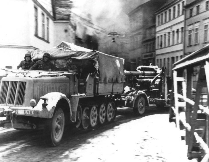 Sd.Kfz.7, 88-mm FlaK
