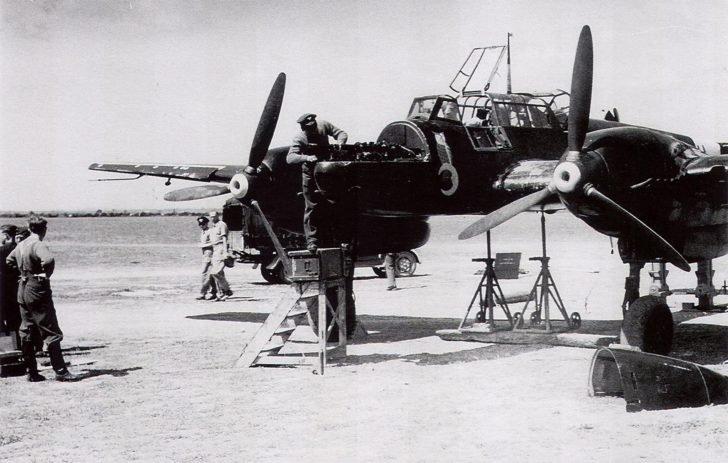 Bf-110C night fighter