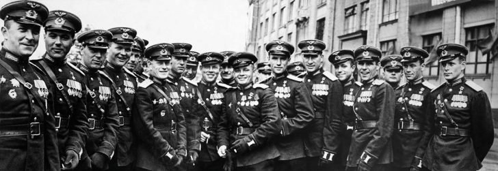 Pilots - Heroes of the Soviet Union