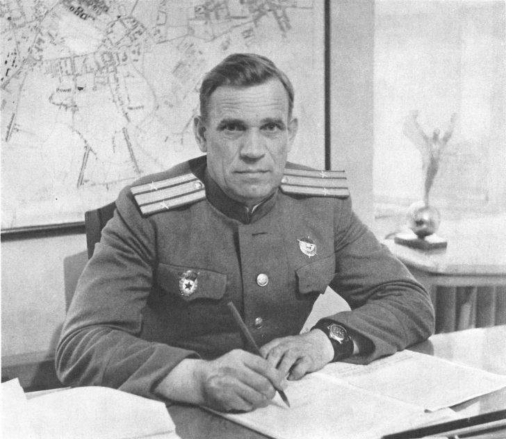 lieutenant colonel Latyshev