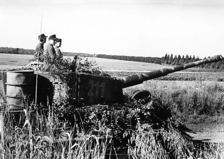 Tiger from SS Panzer battalion