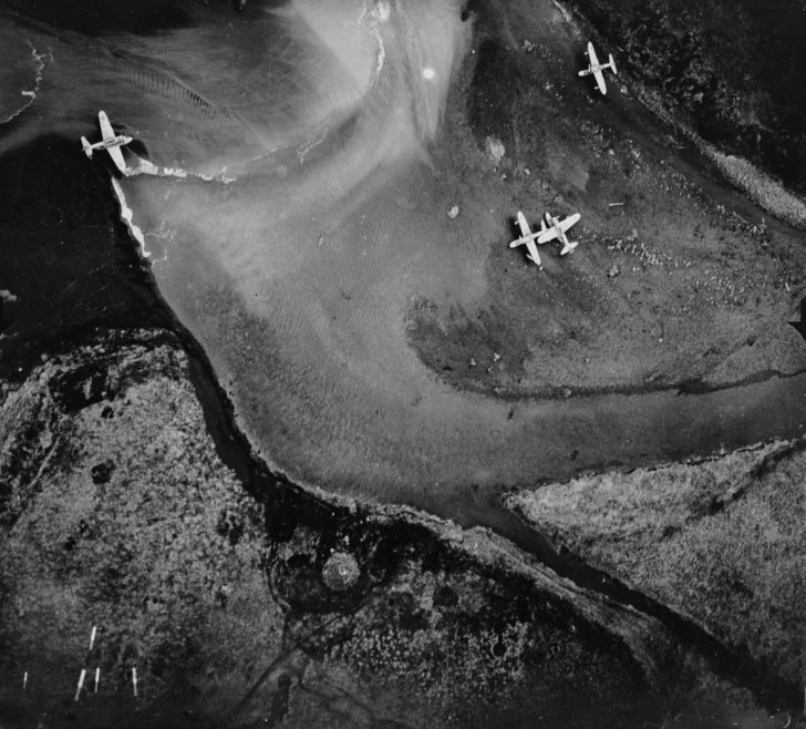 B-24 Liberator, A6M2-N seaplanes