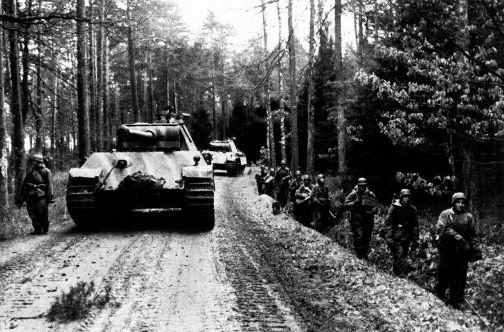 Panzergrenadier, Panzer V Panther