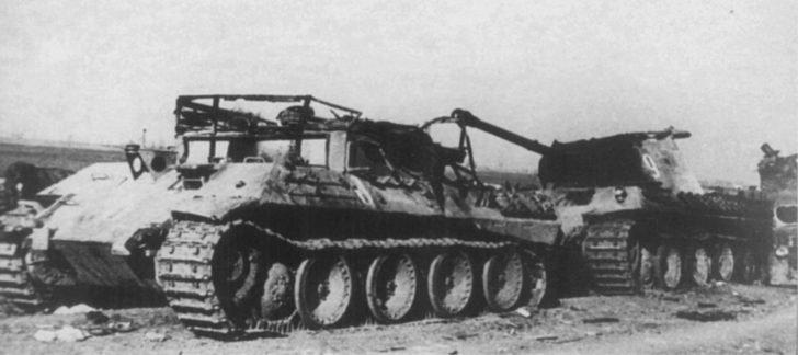 Bergerpanther Ausf. D, Pz. Kpfw. V Ausf. A Panther