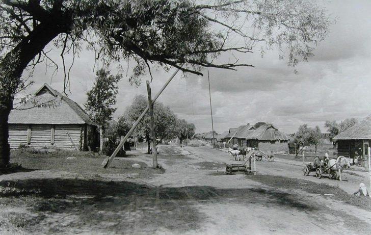 occupied village