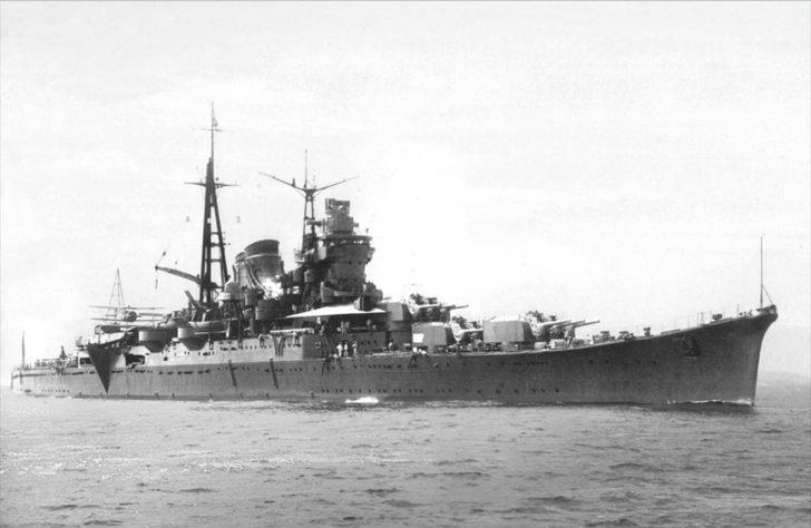 Mogami cruiser